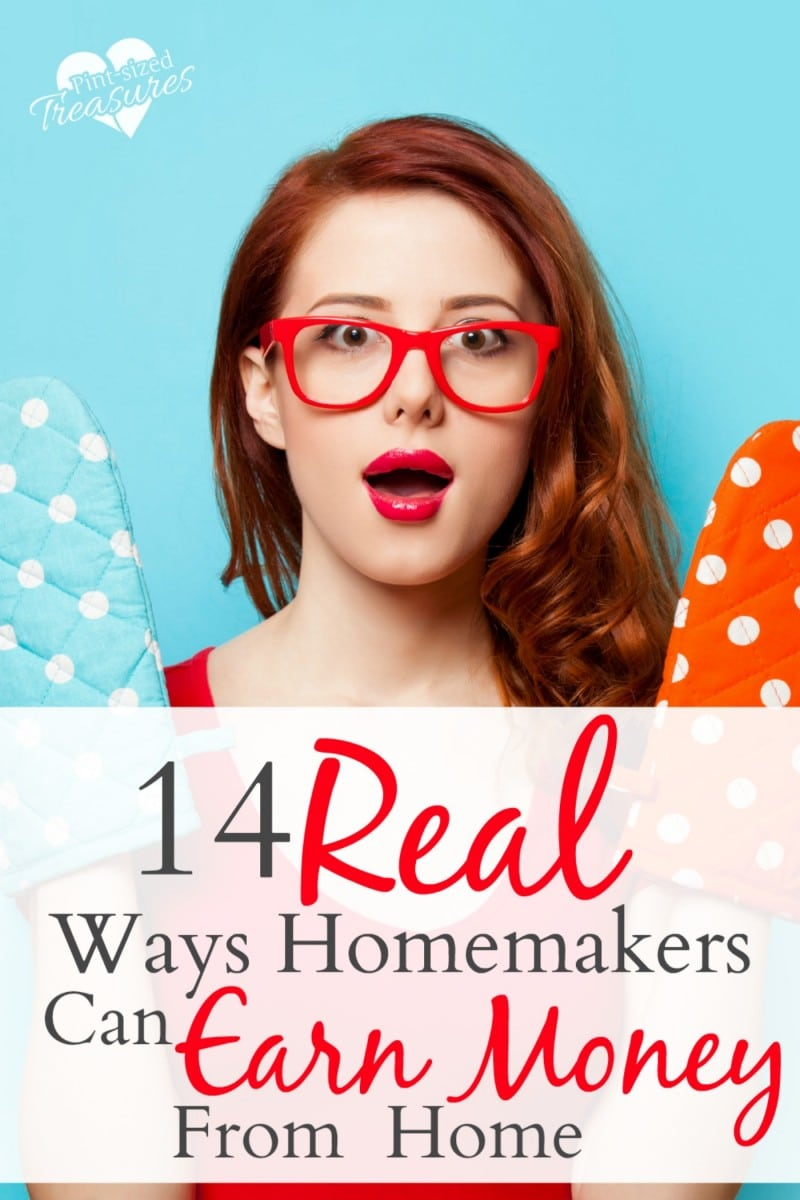 ways homemakers can earn money