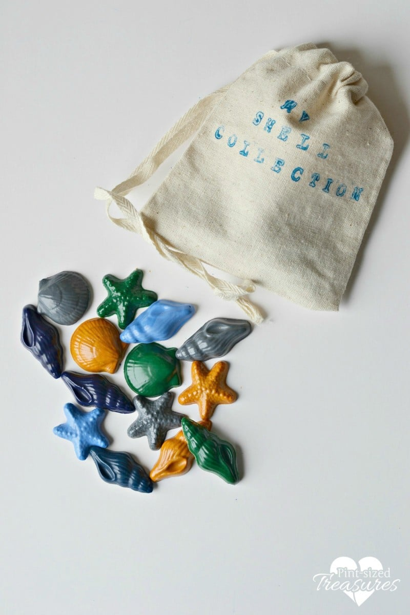 fun diy sea creature crayons
