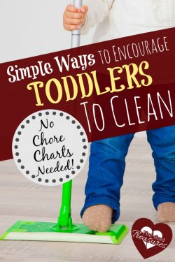 Simple Ways to Encourage Toddlers to Clean Without a Reward System or Chore Chart