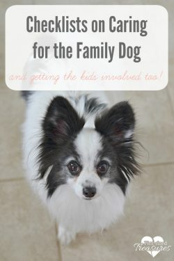 Petcare Checklist for Kids and Moms