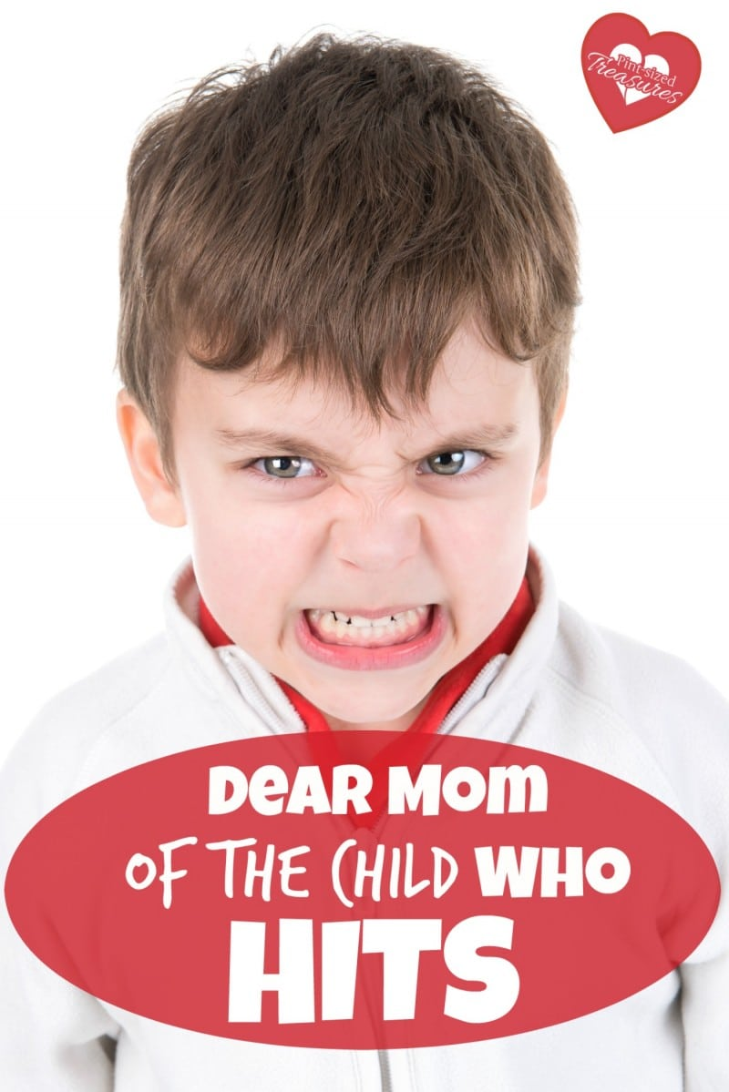 dear mom of the child who hits