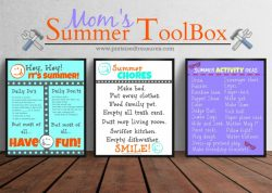 Mom's Summer ToolKit for Kids