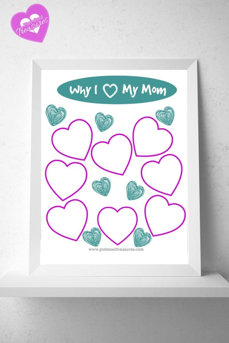 mothers day printables framed