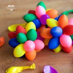 sensory rainbow balloon balls