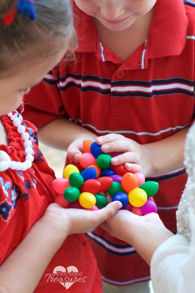 sensory balloon balls