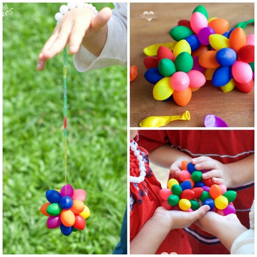 water ballon sensory balls
