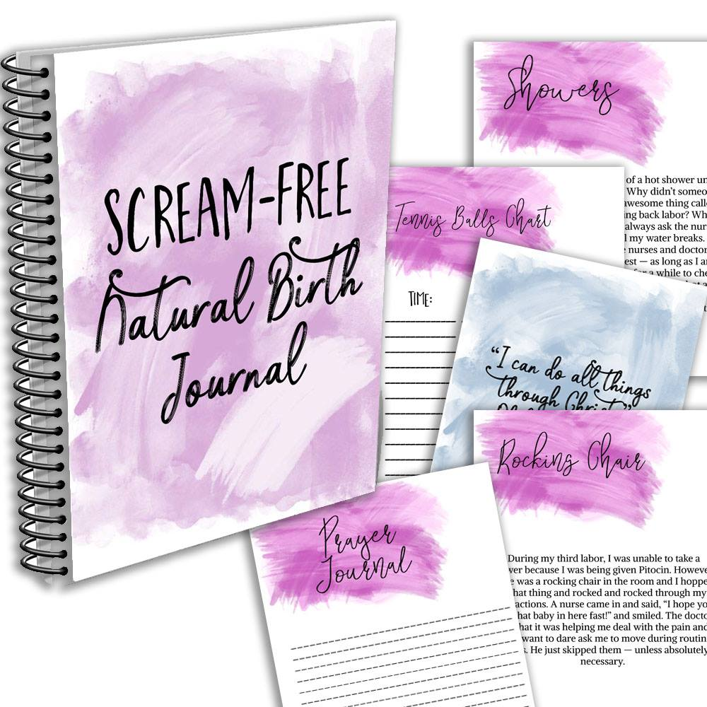 scream free natural birth