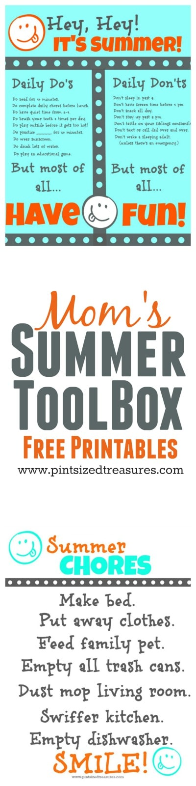 mom's summer toolbox