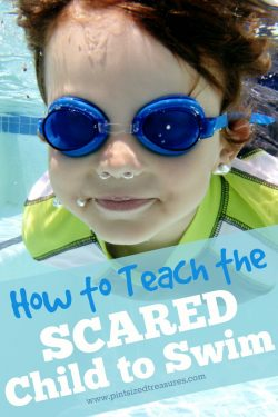 How to Teach The Scared Child to Swim