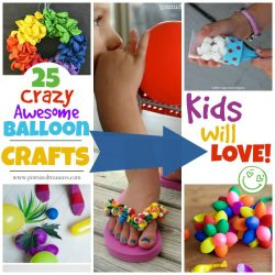 ultimate list of balloon crafts for kids