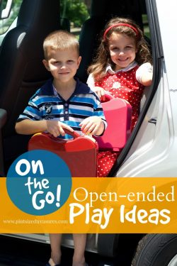 On-the-go, Open-ended Play Activities