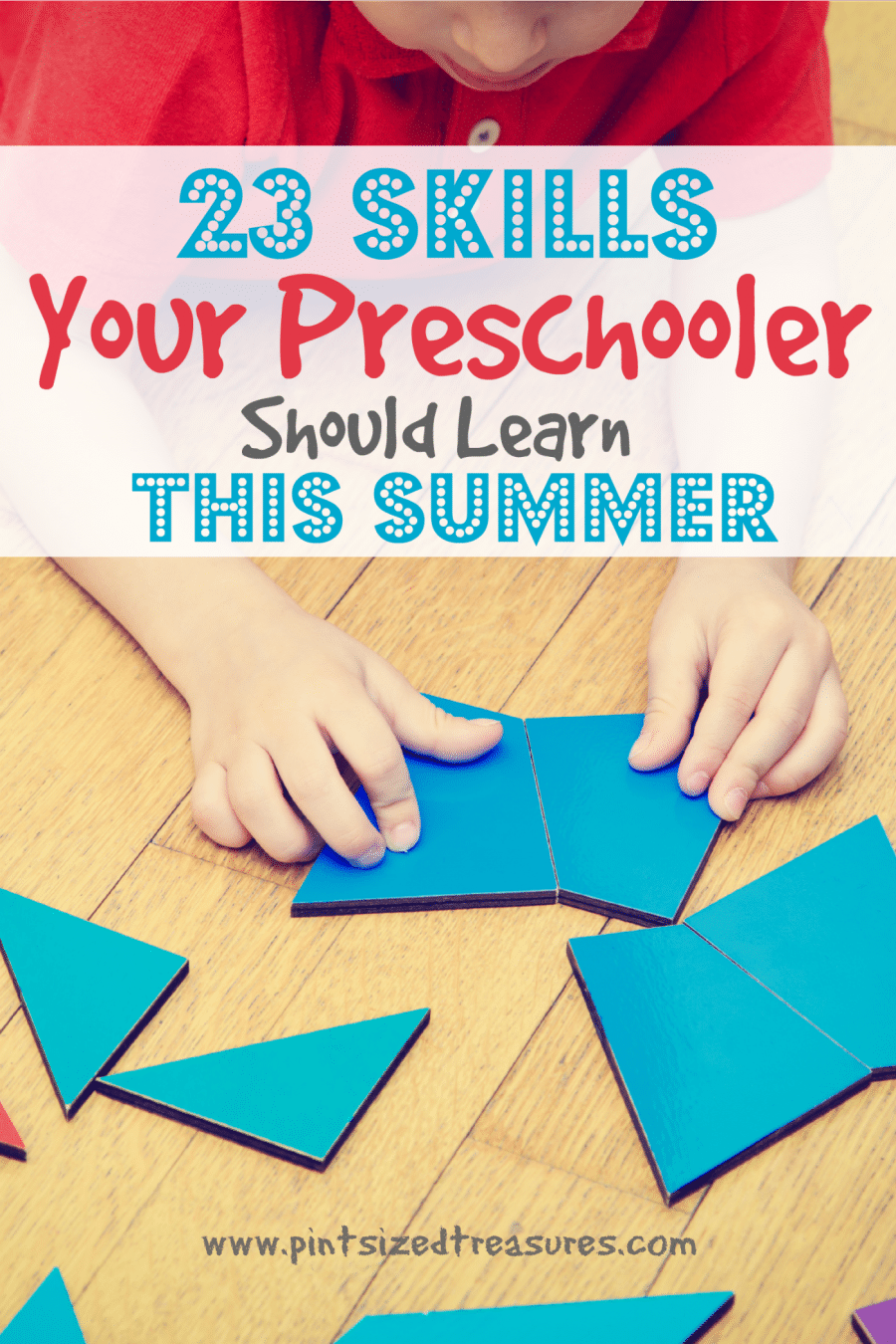 preschool learning in the summer