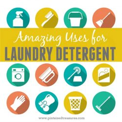 amazing ways to use laundry detergent