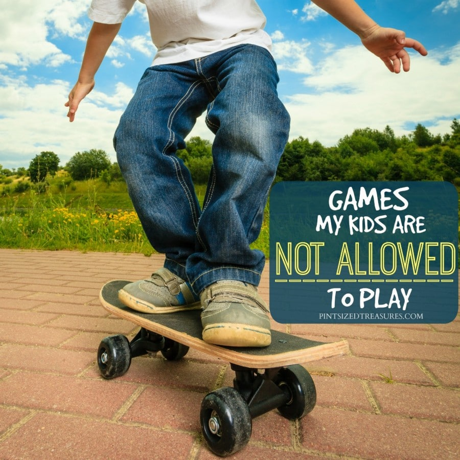 games kids should not play