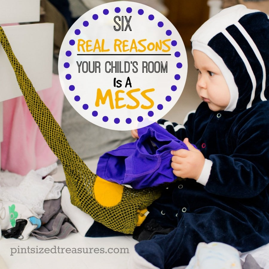 real reasons your child's room is a mess