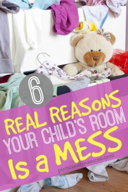 Six Real Reasons Your Child's Room is a Mess
