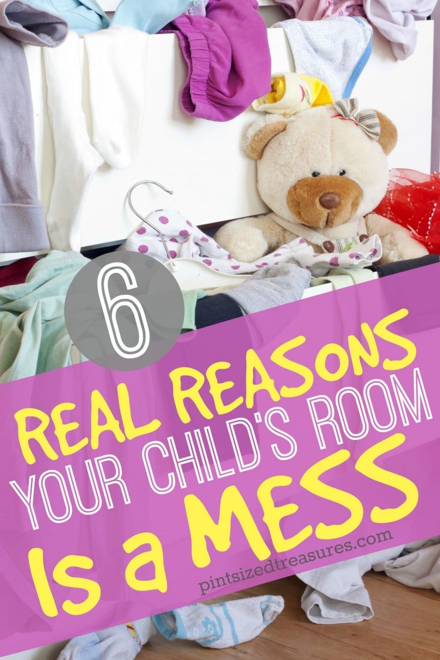 kids room is a mess