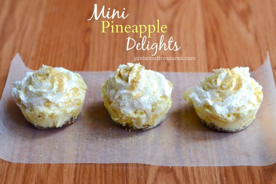 easy pineapple delight recipe