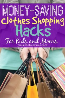 Money-saving Clothes Shopping Hacks for Moms and Kids