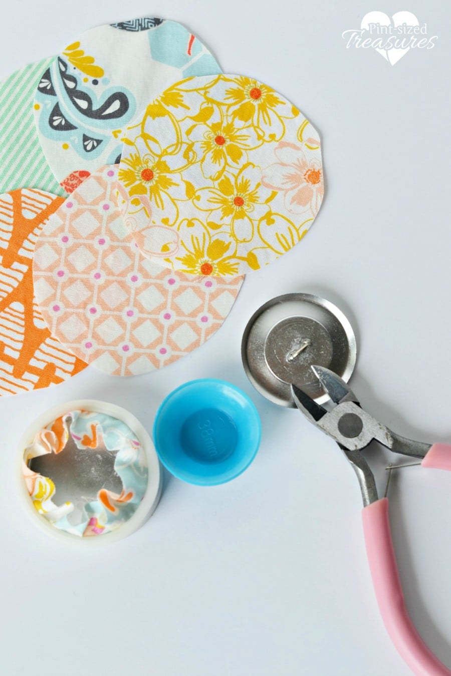 fabric buttons craft
