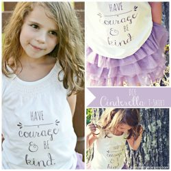 Have Courage and Be Kind DIY Tee