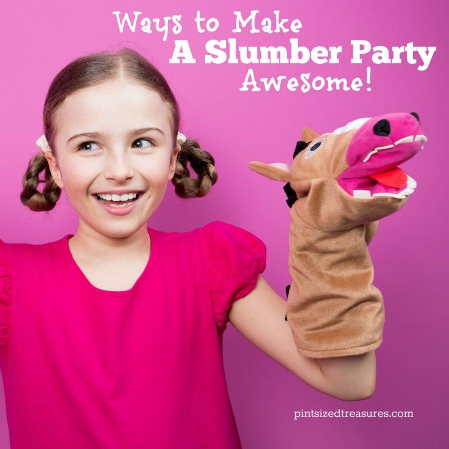 fun ideas for a slumber party