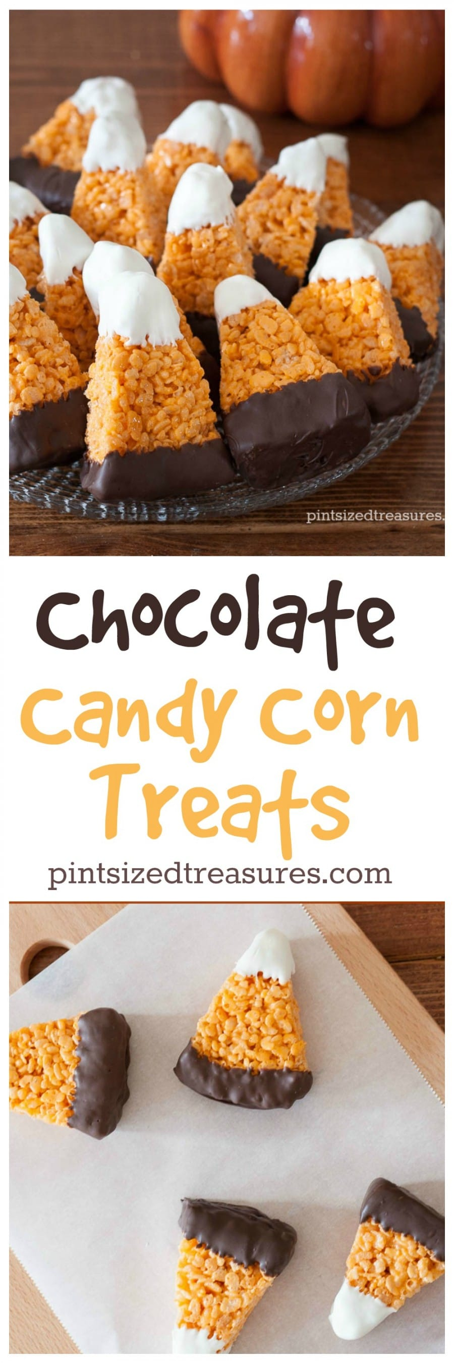 candy corn treats recipe