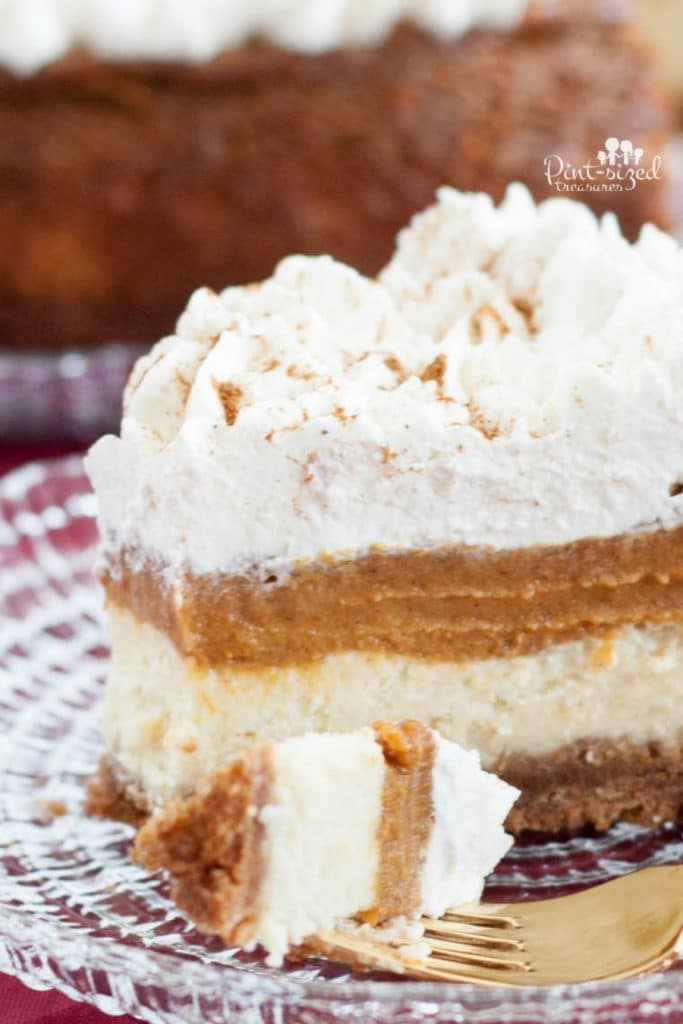 The Easy Pumpkin Pie Cheesecake You Need Now
