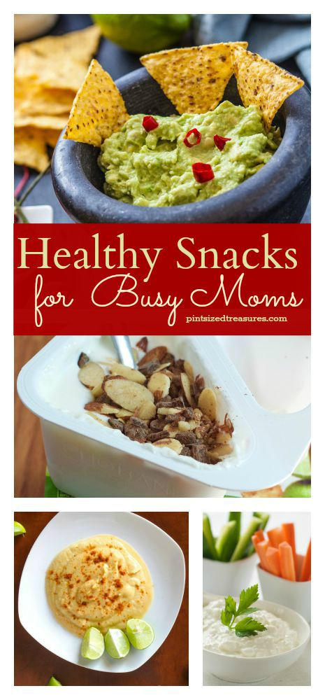snack ideas for busy moms
