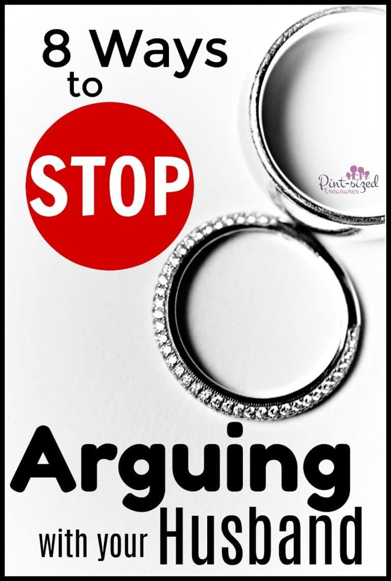 how to stop arguing with your husband