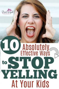 Be honest. Do you frequently yell at your kids? That can change today! Check out these absolutely effective ways to stop YELLING at your kids today! There's power in a calm and cool parent! #motherhood #parentingtips #parentingjourney #parentinghelp #yellingparents #mommylife #mommyblogger #momblog #Christianparenting #parentingtruth #intentionalparenting