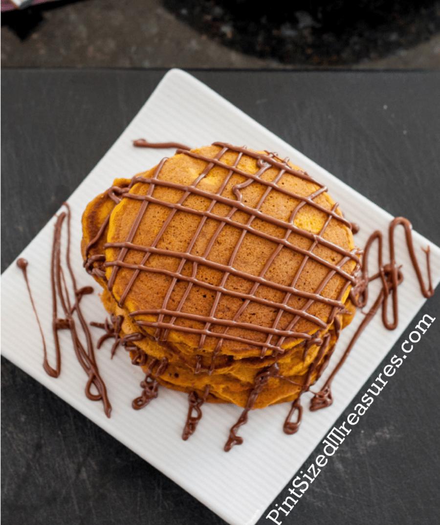 easy homemade pumpkin pancakes