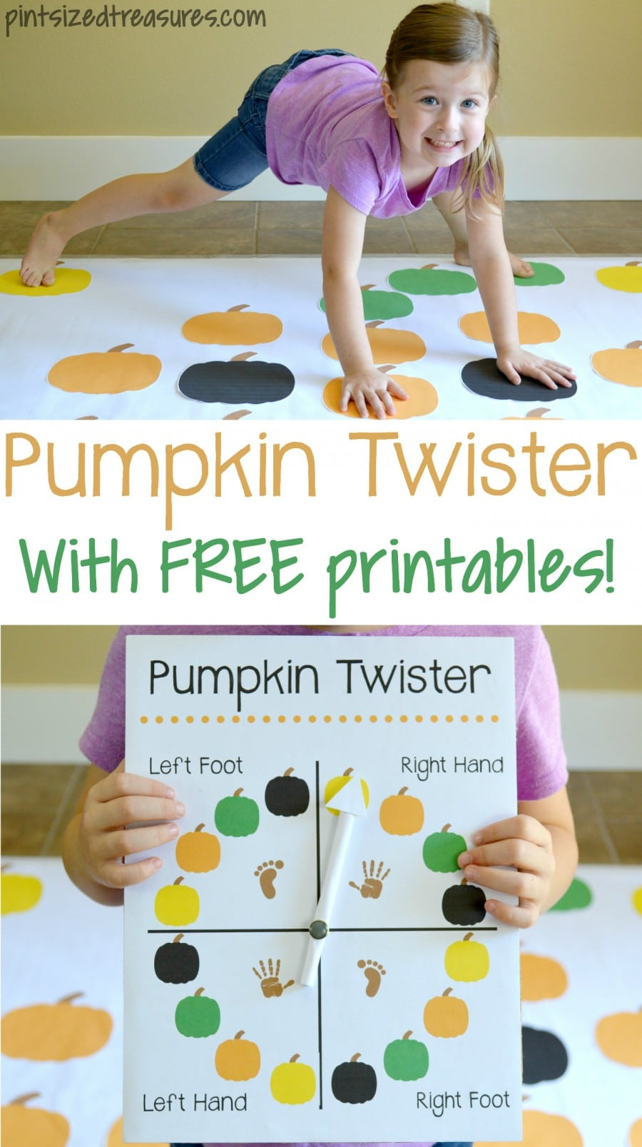 Pumpkin twister game