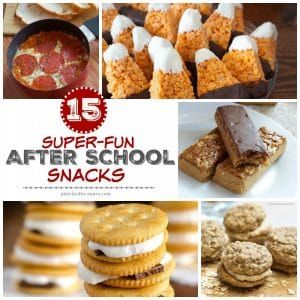 super-fun after school snacks