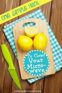 easy natural way to clean microwave