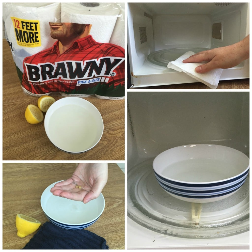 how to clean microwave the easy way
