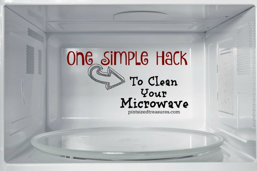 natural easy way to clean microwave