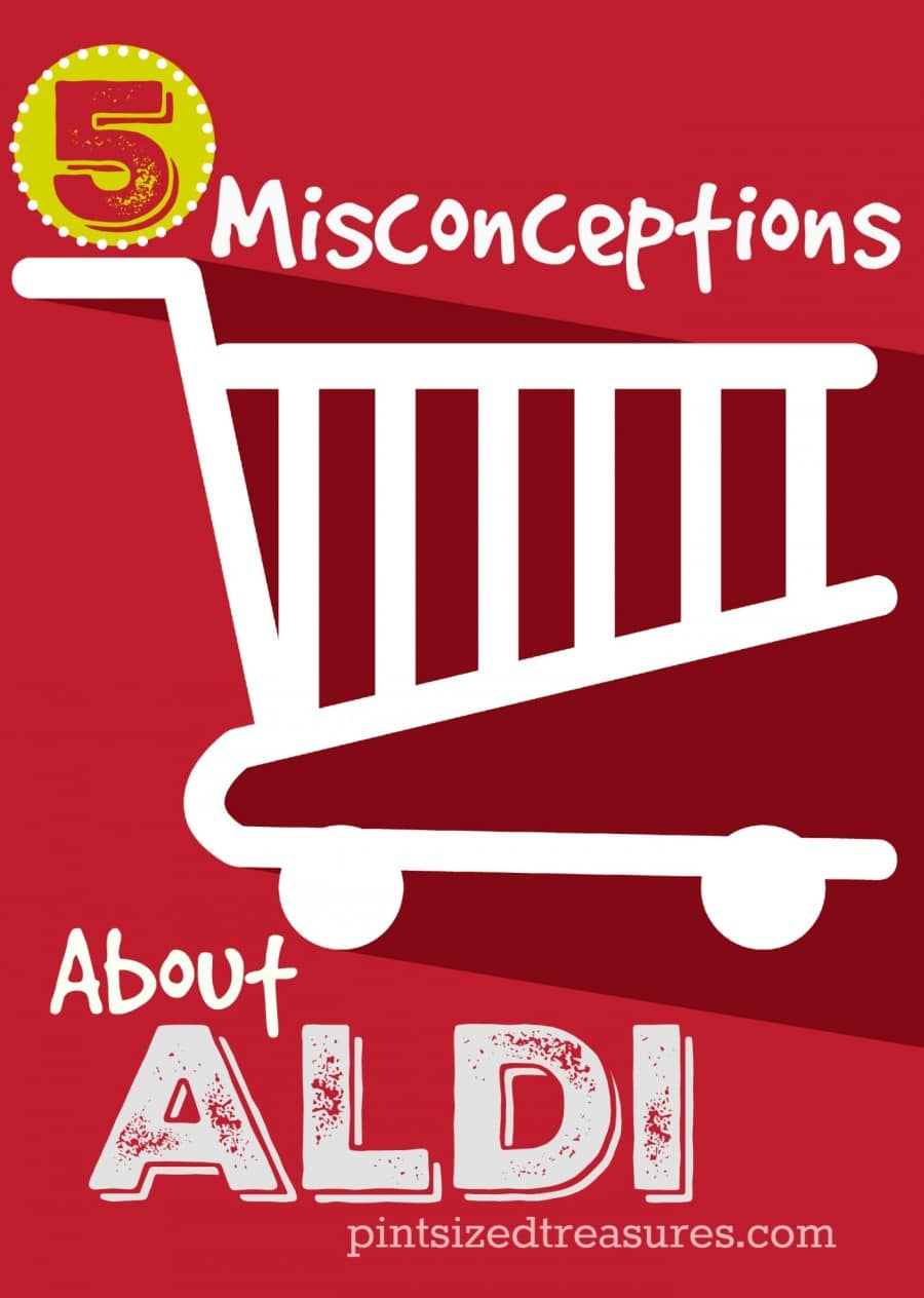 misconcpetions about Aldi discount stores