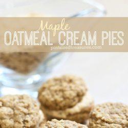 maple oatmeal cream pies homemade