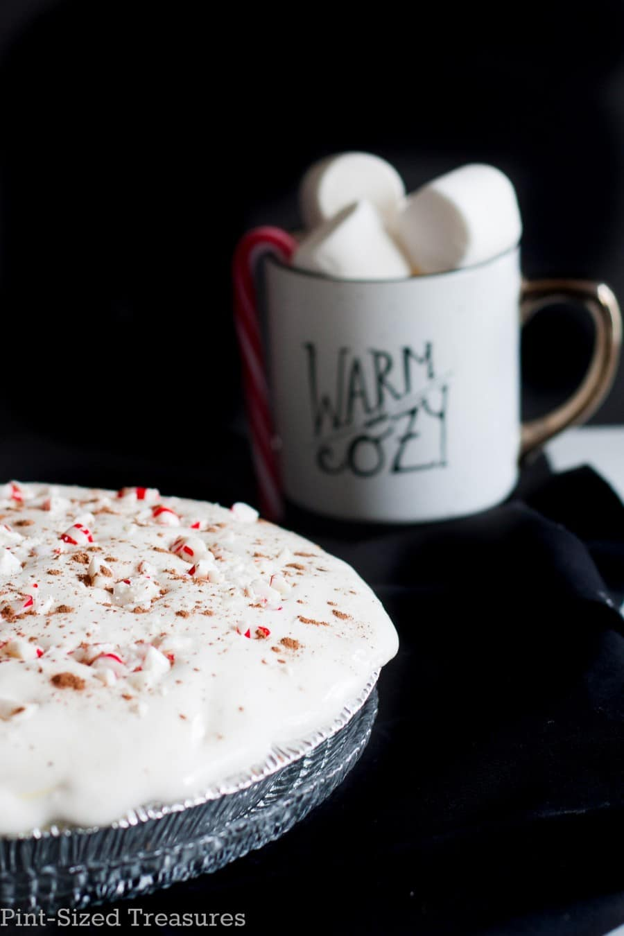 peppermint hot chocolate pie recipe