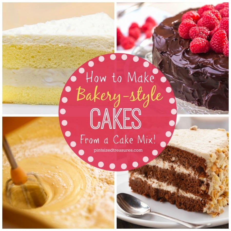 Swell Secrets To Bakery Style Cakes From A Cake Mix Funny Birthday Cards Online Drosicarndamsfinfo