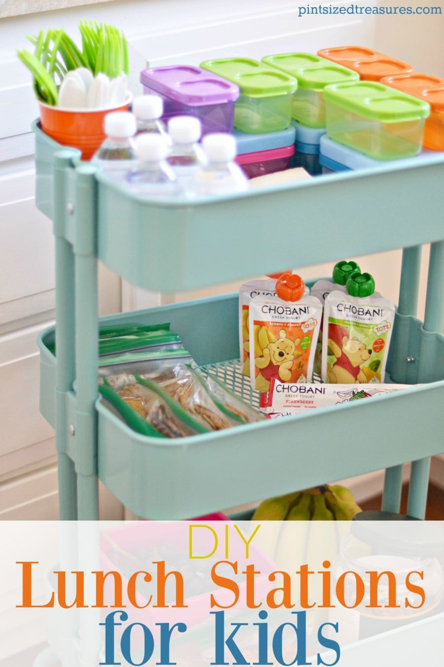Diy Lunch Stations For Kids Pint Sized Treasures