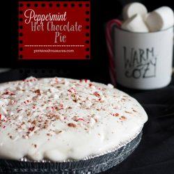 Peppermint Hot Chocolate Pie