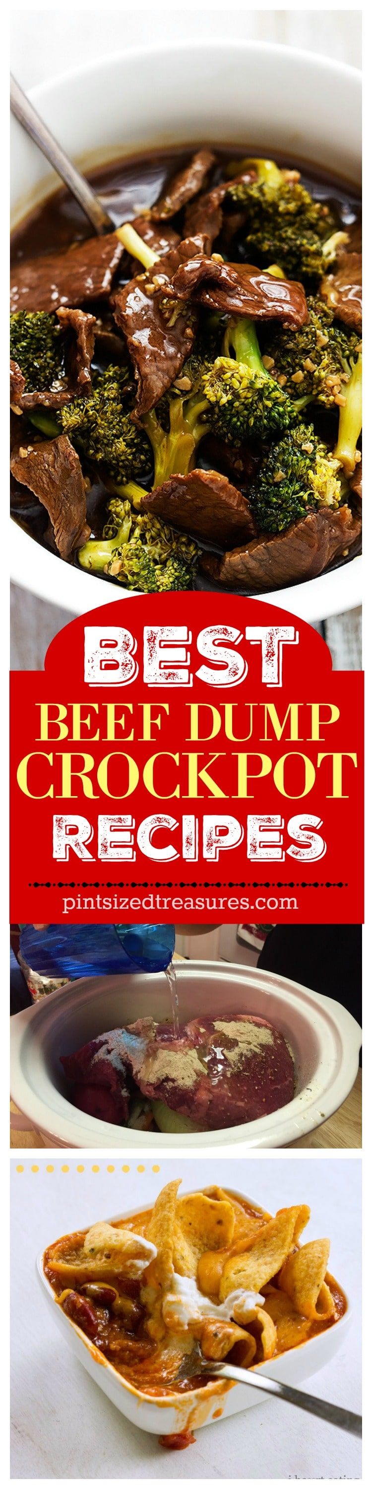 beef dump recipes collage-1