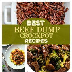 beef dump recipes for the crockpot