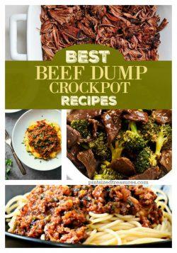 Best Beef Dump Crockpot Recipes
