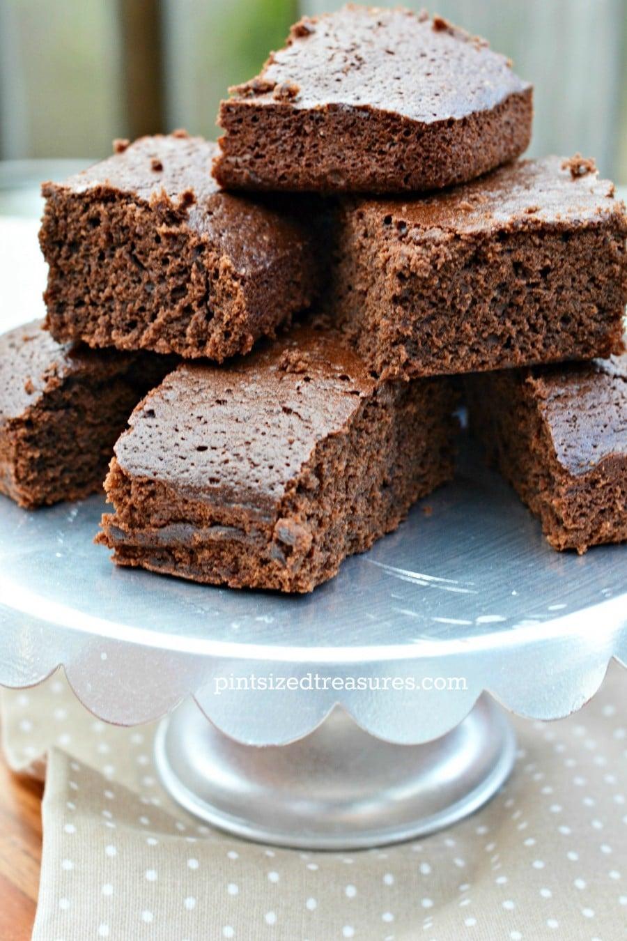 chocolate cake squares with caramel recipe