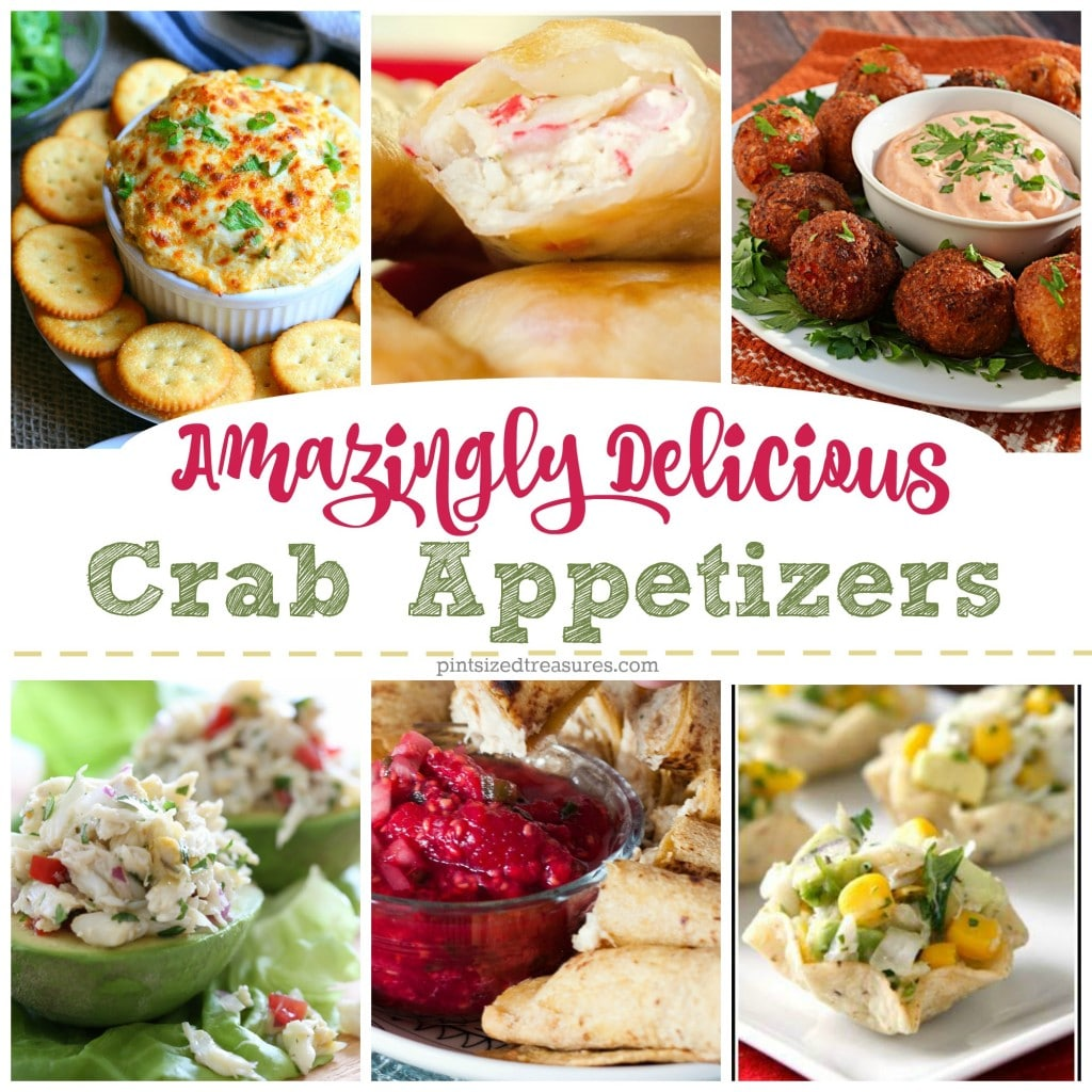 Amazingly Delicious Crab Appetizers