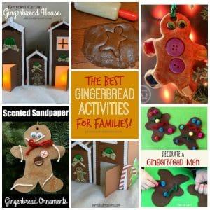best gingerbread activities for families