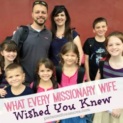 What Every Missionary Wife Wished You Knew